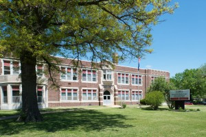 Front view of Mary Herbert Education Center