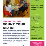 Count your kid in
