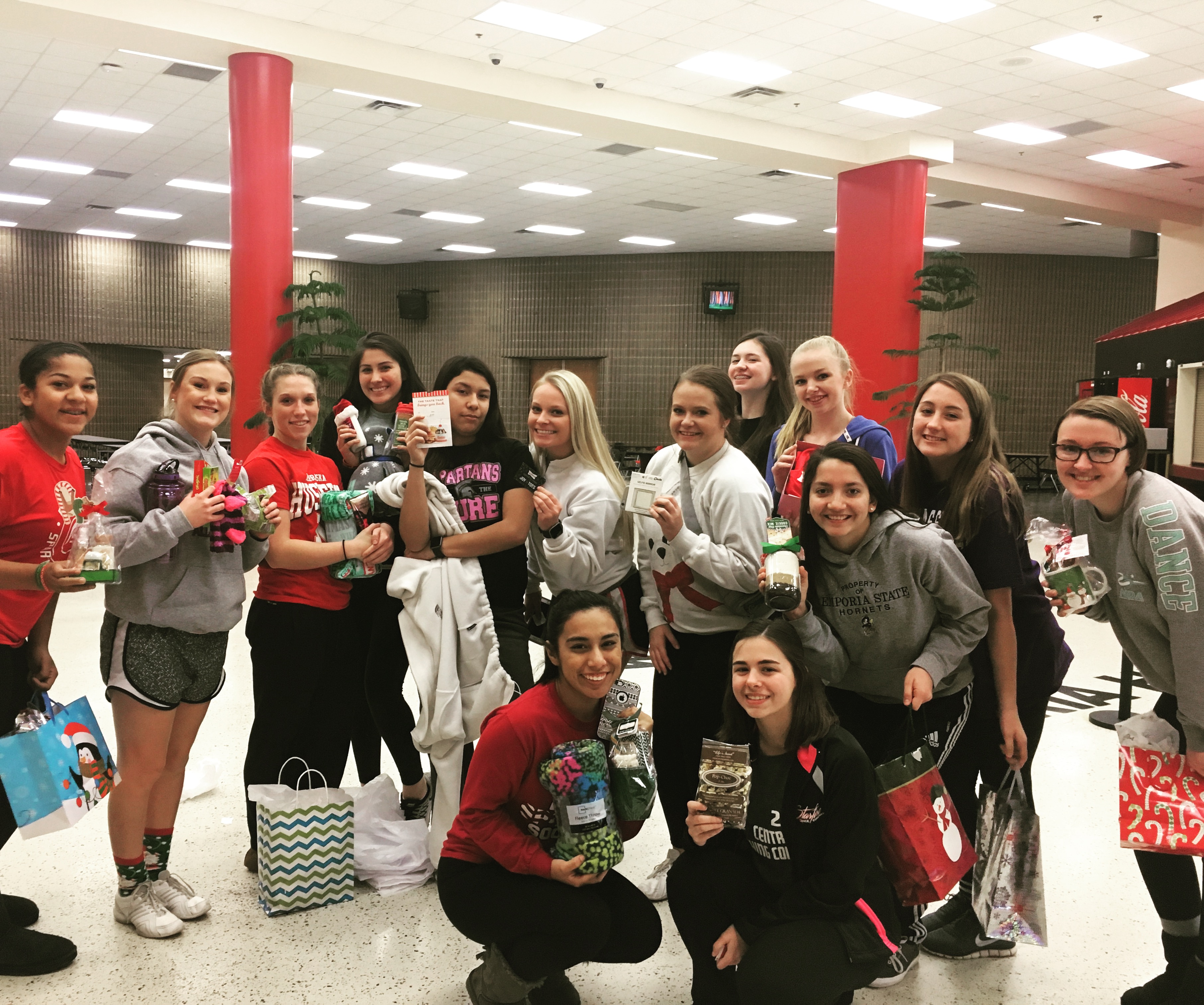 EHS Dance Team Group Photo-Winter