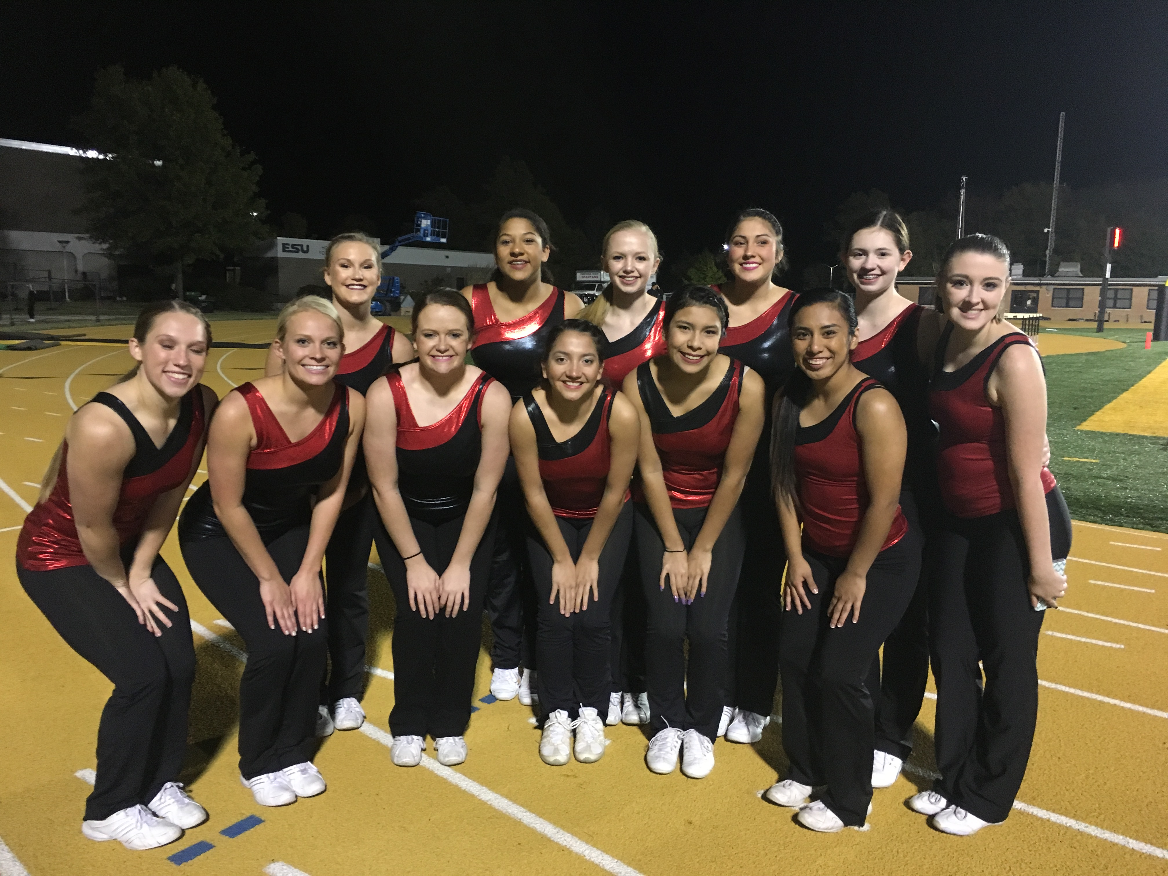 EHS Dance Team on Track